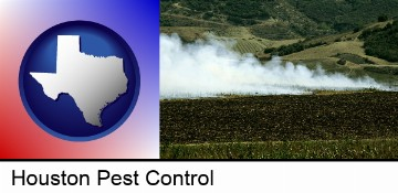 agricultural pest control in Houston, TX